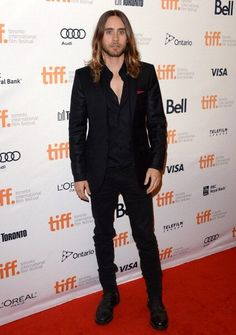 """Jared LetoOh Jared Leto. The actor stepped out on the red carpet for """"Dallas Buyers Club"""" with his shirt undone just a little bit too far. W..."""