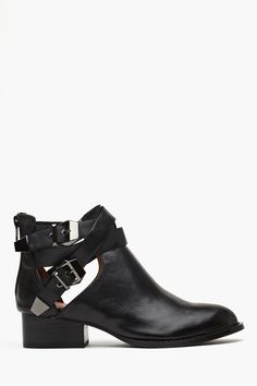 Everly Cutout Boot in Shoes Jeffrey Campbell at Nasty Gal