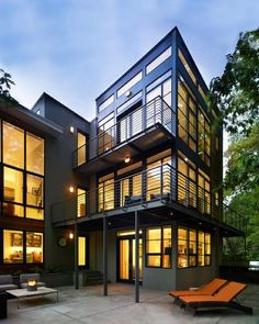Container Home Design 3 levels
