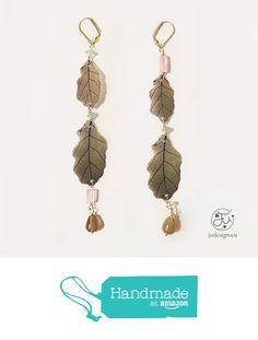 JU Jewels - orecchini pendenti con foglie da JU Jewels Italy https://www.amazon.it/dp/B01N51SEW6/ref=hnd_sw_r_pi_dp_CkgqybD2N7MZZ #handmadeatamazon