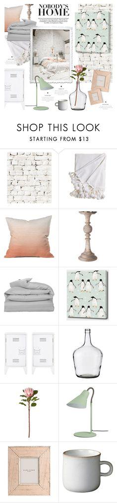"""minimalist bedroom"" by jesuisunlapin ❤ liked on Polyvore featuring interior, interiors, interior design, home, home decor, interior decorating, Milton & King, Dot & Bo, Lene Bjerre and GANT"