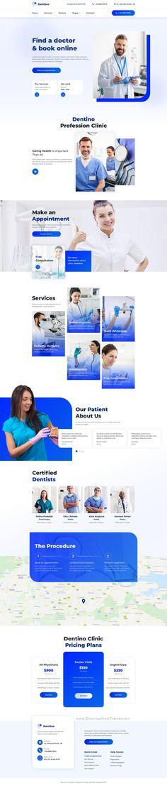 Corporate Website Templates, Corporate Website Design, Corporate Design, Web Design Examples, Modern Web Design, Web Ui Design, Medical Sites, Beauty Clinic, Ux Wireframe