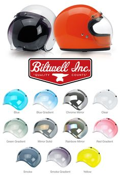 BILTWELL – New colors Bubble Shields  http://caferacercult.gr/news/biltwell-new-colors-bubble-shields-2.html