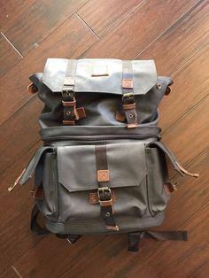 Langly Alpha Pro Camera Backpack bag Fits 1 DSLR, 4 Lenses, tripod