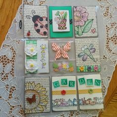 Garden #pocketletter by Lolly