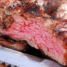 Grilled Chili-rubbed Flank Steak