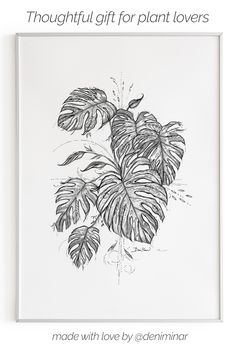 Line drawings for all plant, flower and nature lovers by Slovak artist Deni Minar. These high-quality wall art prints are a perfect fit for multiple home decor styles. The drawing series include - zz…More Leaf Drawing, Nature Drawing, Plant Drawing, Pencil Art Drawings, Art Drawings Sketches, Tattoo Sketches, Plant Sketches, Plant Tattoo, Line Work Tattoo