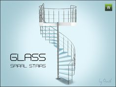 Gosik's Glass spiral stairs