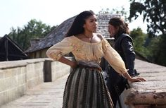 The Musketeers series 3x6. Athos chooses duty over Sylvie! BBC/Dusan Martincek.