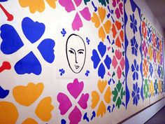 Large Composition with Masks at the National Gallery of Art. #art, #matisse, #cutouts