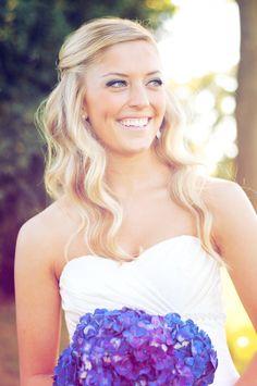 Beautiful bride! I love her hair and makeup! Photo by Sarah M. #weddingphotographerminnesota #bridalhair #bridalmakeup