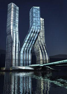 Dancing Towers, Dubai.