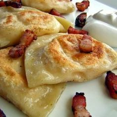 Potato and Cheese Perogies Recipe from Group Recipes, found @Edamam!.
