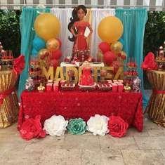Maddie of Avalor birthday party - Elena of Avalor