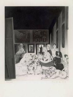 Richard Hamilton - Picasso's Meninas (1973)