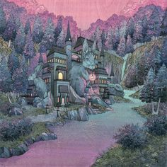 Nimasprout The art of Nicole Gustafsson Nimasprout is the world of Nicole Gustafsson. She specializes in traditional media paintings featuring everything from woodland characters and environments, to tribute works of her favorite pop culture icons. She currently lives in the Pacific Northwest and works as a full time illustrator with her husband and pet kids. Nicole's artwork is available at select galleries around the country and her online Etsy shop.  posted by Andrew  Check out our…
