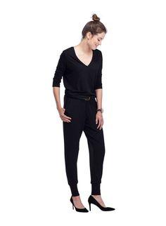Weston Jumpsuit in Black | BAUKJEN