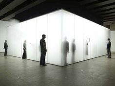 Antony Gormley's Blind Light, 2007