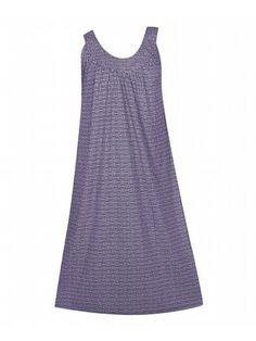 Plus Size Purple Bright Star Maxi Dress