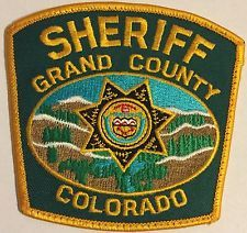 Grand County Colorado Patch Sheriff Police