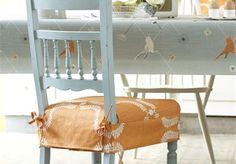 OilCloth Tablecloth - Traditionally Designed Oil Cloth Fabric - Vanessa Arbuthnott - Vanessa Arbuthnott