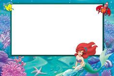 114 Best Mermaid Bday Images Birthday Party Ideas Little Mermaid