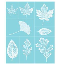 Martha Stewart Crafts™ Glass Silkscreen - Leaves