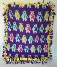 Baby Blanket Child Blanket Fleece Blanket Car by Myfriendcaroline