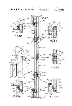 Patent US4245614 - Fireplace screen - Patenty Google
