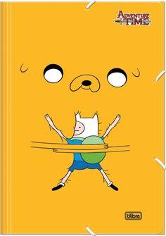 Pasta Com Elástico Adventure Time