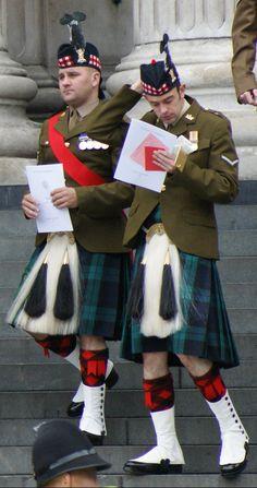 Royal Regiment of Scotland, 3 SCOTS, or Black Watch.