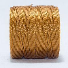 Hilo micro-macramé gold/ dorado. Beryllos: cuentas y abalorios. www.beryllos.es