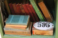 Libros antiguos - Decoración Vintage Blog