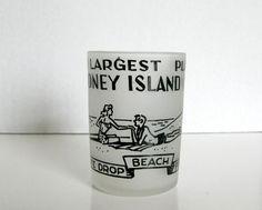 Vintage Coney Island Shot Glass Coney Island New York by Sfuso