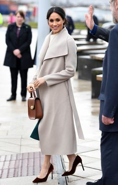 Meghan Markle Photos - Prince Harry and Meghan Markle during a visit to Titanic Belfast maritime museum on March 23, 2018 in Belfast, Nothern Ireland. - Prince Harry And Meghan Markle Visit Northern Ireland