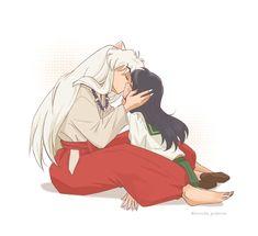 Inuyasha Anime, Inuyasha Fan Art, Inuyasha And Sesshomaru, Kagome And Inuyasha, Anime Demon, Manga Anime, Anime Art, Corpse Party, Seshomaru Y Rin