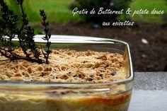 Gratin de courge butternut et patate douce
