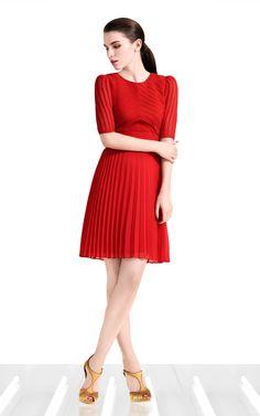 Pintuck cute dress - Karen Millen