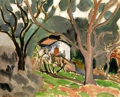 The Little House / Henri Matisse - 1919