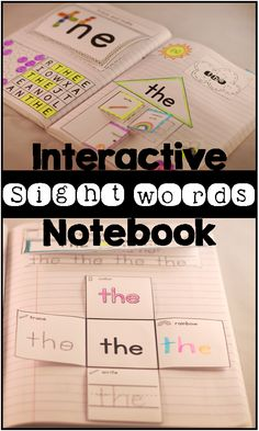 Fun and engaging way to learn and practice sight words! ($) Could use with letters too?