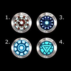 Proof that Tony Stark has a heart, Ironman arc reactor, Tony Stark, Antique Silver and Antique Bronze necklace
