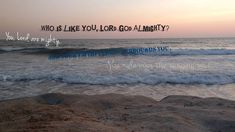 Psalm 89:8, 9 Video Devo with an Ocean View