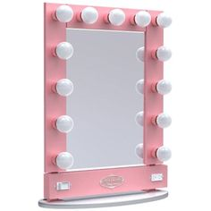Vanity Girl Hollywood Mirror. I LOVE my mirror! You can find these at vanitygirlhollywood.com