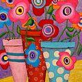 Telling Secrets Painting by John Blake