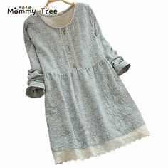 Fashion Floral Cotton Linen Maternity Dresses Loose Clothes for Pregnant Women Plus Size Maternity Clothing Pregnancy Dress-in Dresses from Mother & Kids on Aliexpress.com | Alibaba Group