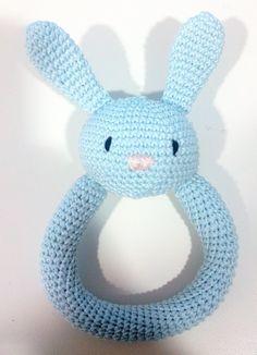 Tutorial Sonajero conejito de Crochet