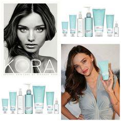 Miranda Kerr Kora organic skincare via London Beauty Queen. Has anyone tried her line?