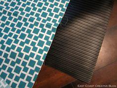 I Am Momma - Hear Me Roar: DIY Fabric Floorcloth
