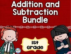 Addition and Subtraction Bundle 1st Grade - Use this 160 page resource to help your first graders master adding and subtracting. With purchase you receive 30 math tasks for cooperative learning, 36 exit tickets for individual assessment, I can statements, and seven formative assessments. These work great for math centers, stations, activities, lessons, small group work, tests, morning work, homework, review, and more. Click through now to grab your copy today! Great word problem practice…