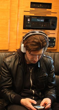 Our Lady Peace Steve Mazur with a pair of Inspiration headphones Our Lady, Kicks, Headphones, Peace, Pairs, Music, Inspiration, Musica, Biblical Inspiration